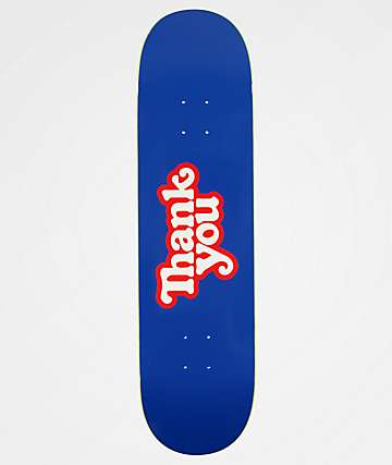 "Thank You Logo 8.25"" tabla de skate"
