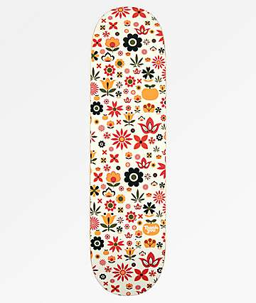 "Thank You Pudwill Flower Power 8.25"" Skateboard Deck"