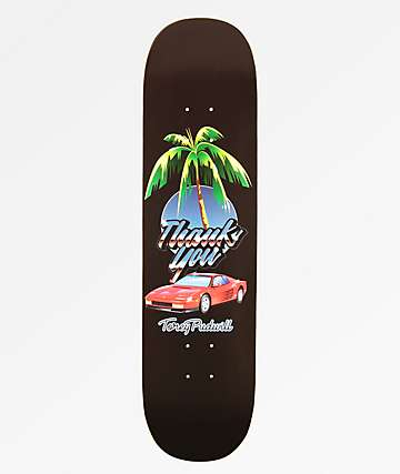 "Thank You Pudwill Rari Nights 8.0"" Skateboard Deck"