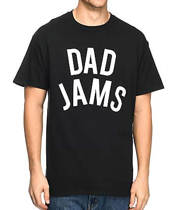 The Bad Dads Club Dad Jams camiseta negra