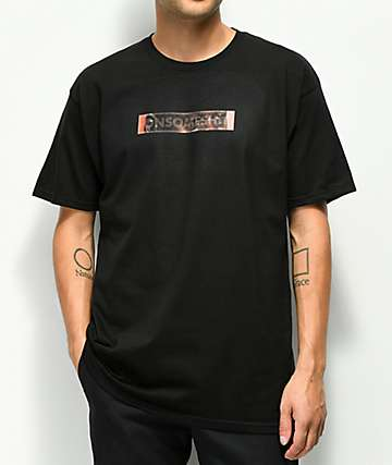 The Come UP OSS Jordan Tears Box Black T-Shirt