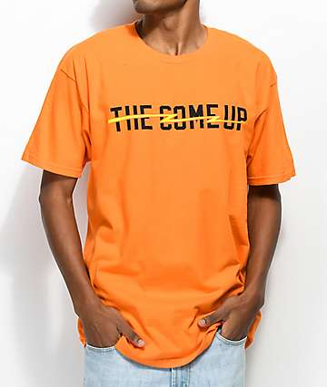 The Come Up Lightning Orange T-Shirt