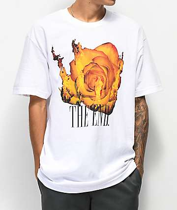 The End Blaze camiseta blanca