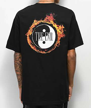 The End Ring Of Fire camiseta negra