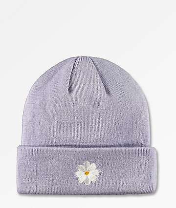 The Forecast Agency Daisy Lavender Beanie