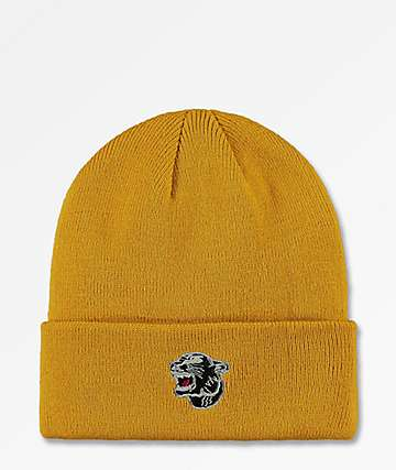 199b58883fe The Forecast Agency Panther Mustard Beanie
