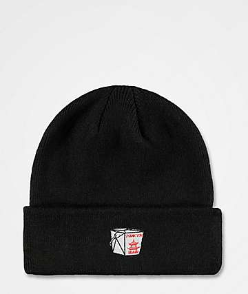 The Forecast Agency Takeout Black Beanie