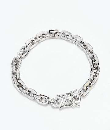 The Gold Gods 5mm Hermes Link White Gold Bracelet