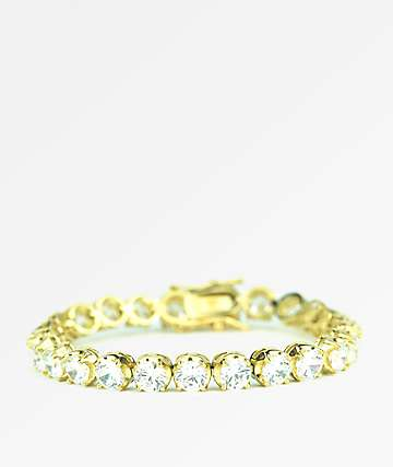 The Gold Gods Buttercup Tennis pulsera de oro