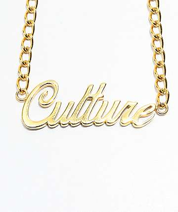 The Gold Gods Culture Script gargantilla