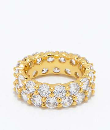 The Gold Gods Dual Eternity Ring