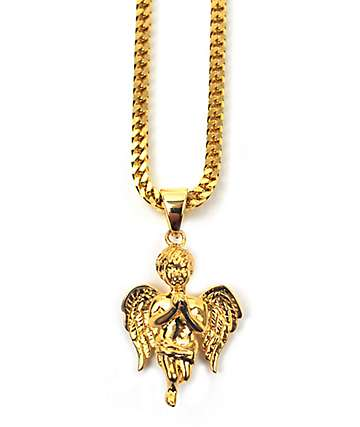 The Gold Gods Fallen Angel collar