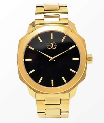 The Gold Gods Julius Gold Analog Watch