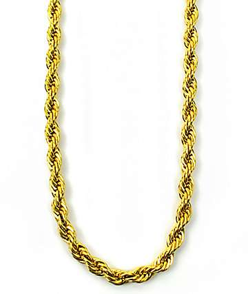 The Gold Gods Rope Chain Necklace