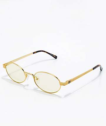 271663021adf The Gold Gods The Ares Yellow Gradient Sunglasses
