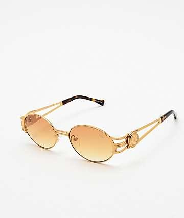 The Gold Gods x Fabolous gafas de sol anaranjadas