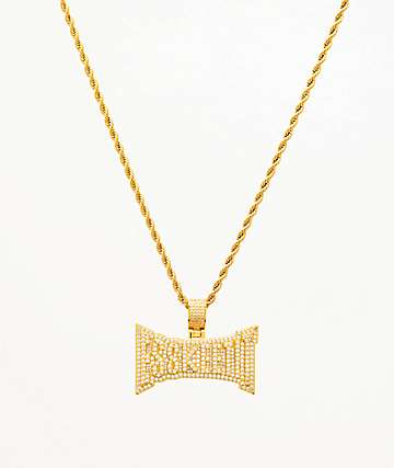 "The Gold Gods x Lil Pump Esskeetit 22"" Yellow Gold Necklace"