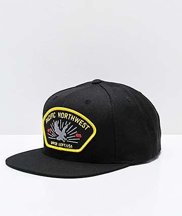 The Great Commander Black Snapback Hat
