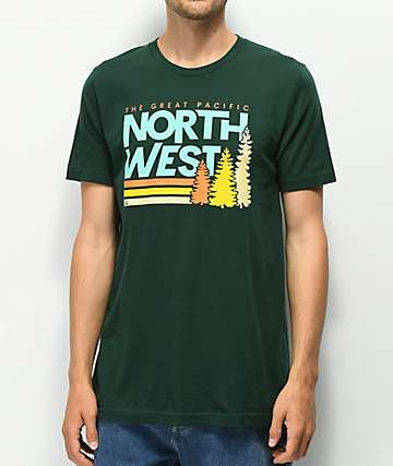 The Great PNW Lift Green T-Shirt