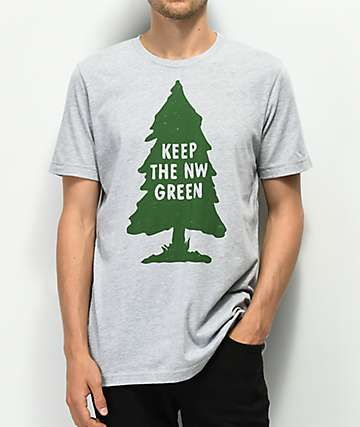 The Great PNW Preserve Grey T-Shirt