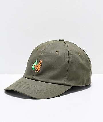 The Great PNW Woodsy Grey Strapback Hat
