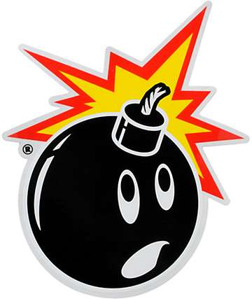 The Hundreds Adam Bomb Sticker