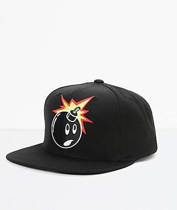 The Hundreds Adam Snap gorra negra snapback