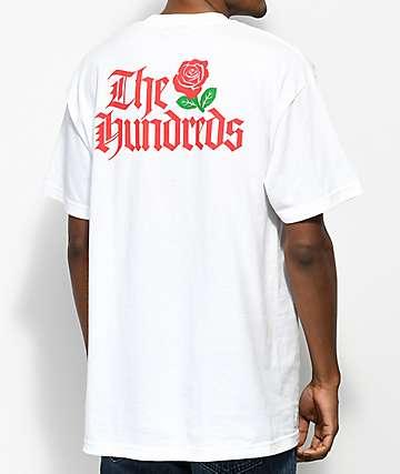 The Hundreds Big Rose camiseta blanca