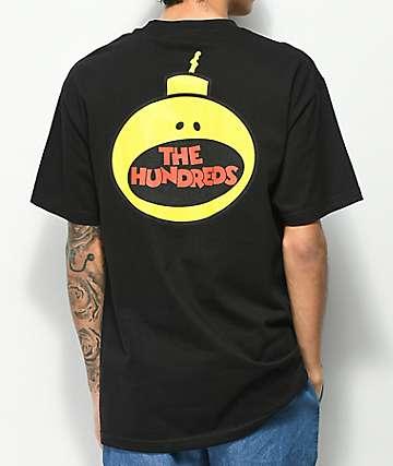 The Hundreds Bombastic camiseta negra