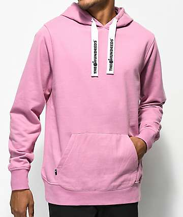 The Hundreds Boyer Pink Hoodie