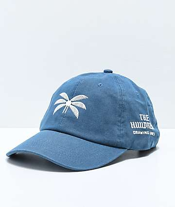 The Hundreds Broadway Indigo Strapback Hat