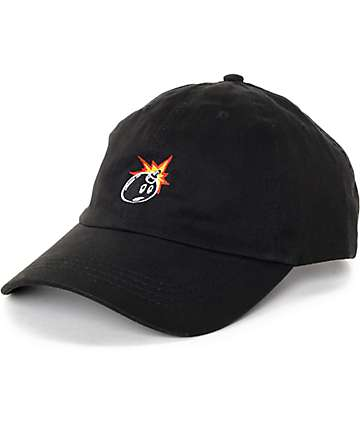 The Hundreds Classic Adam gorra strapback en negro
