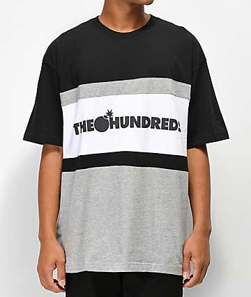 The Hundreds Club Black & Grey T-Shirt