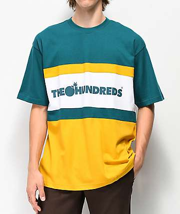 The Hundreds Club Green & Gold T-Shirt