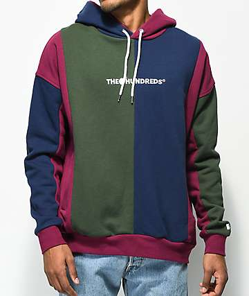 The Hundreds Collin Colorblock Hoodie