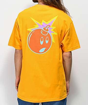 The Hundreds Color Adam camiseta dorada