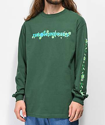 The Hundreds Daisy Bar Forest Green Long Sleeve T-Shirt
