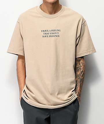 The Hundreds Feelings Sand T-Shirt