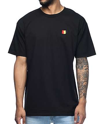 The Hundreds Flag Emblem Black T-Shirt