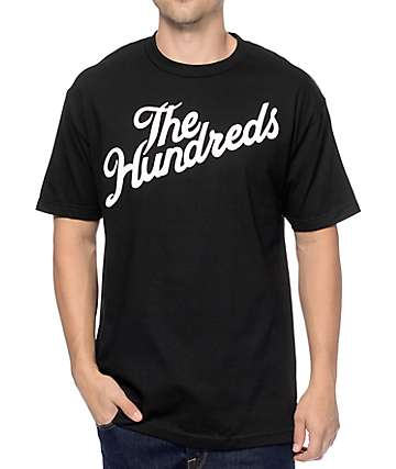 The Hundreds Forever Slant Black T-Shirt