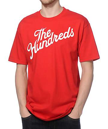 The Hundreds Forever Slant camiseta