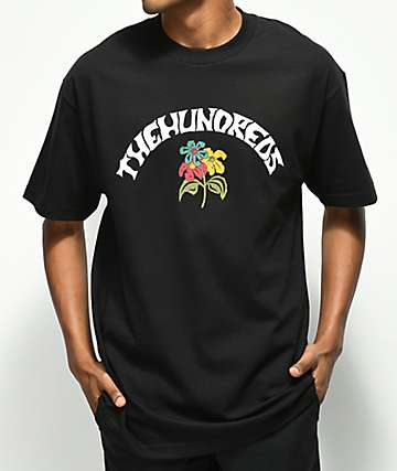 The Hundreds Generation Black T-Shirt