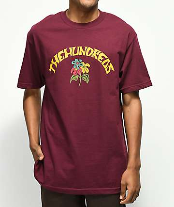 The Hundreds Generation Burgundy T-Shirt