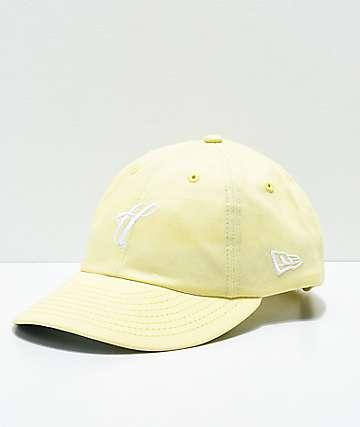 The Hundreds Ground gorra strapback en color amarillo