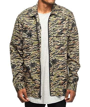 The Hundreds Guerrero Camo Woven Jacket
