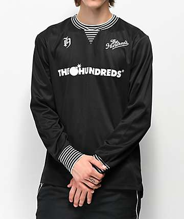 The Hundreds Howard Black Long Sleeve Jersey