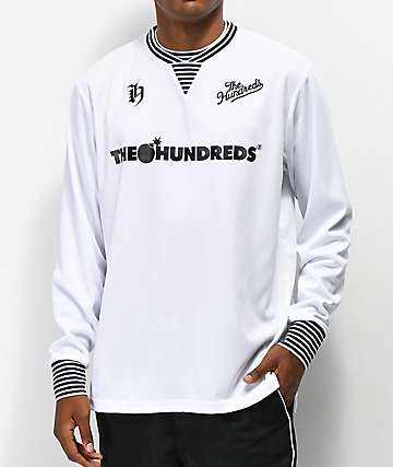 The Hundreds Howard White Long Sleeve Jersey