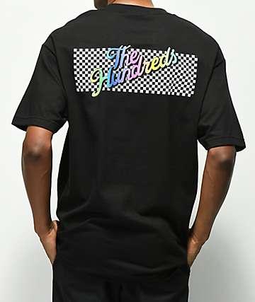 The Hundreds Line Slant camiseta negra