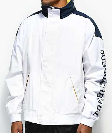 The Hundreds Marina White Jacket