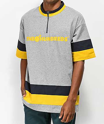 The Hundreds Maxon Knit Grey T-Shirt